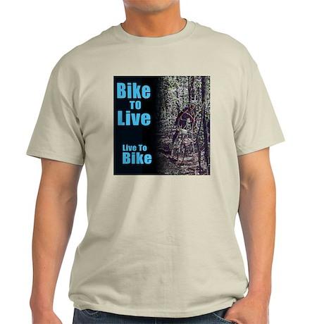 Bike to live, live to bike Light T-Shirt