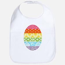 Fabric Egg Bib