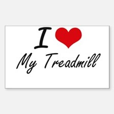 I love My Treadmill Decal