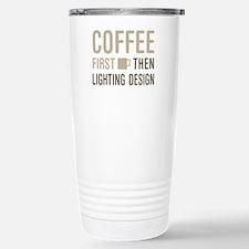 Coffee Then Lighting De Travel Mug