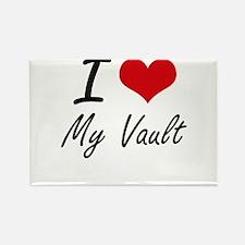 I love My Vault Magnets