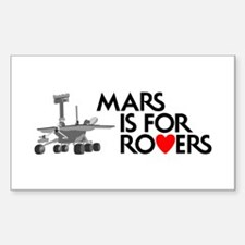Mars Is for Rovers Decal