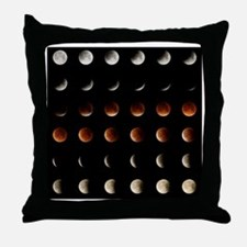 2015 Lunar Eclipse Throw Pillow