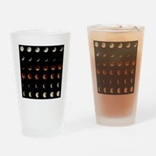 2015 Lunar Eclipse Drinking Glass
