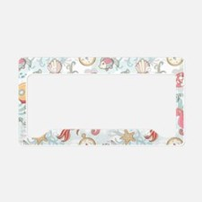 Whimsical Sea Life License Plate Holder