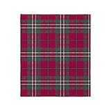 Clan scott tartan Fleece Blankets