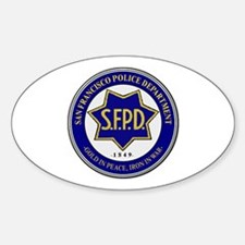 San Francisco Police Decal