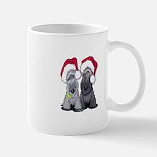 Christmas Cesky Terriers Mug
