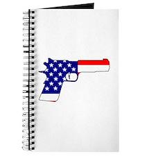 USA flag gun Journal