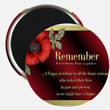 "Funny Remembrance day 2.25"" Magnet (10 pack)"