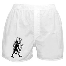 Unique Krampuskarten Boxer Shorts