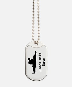 Black Belt Dog Tags