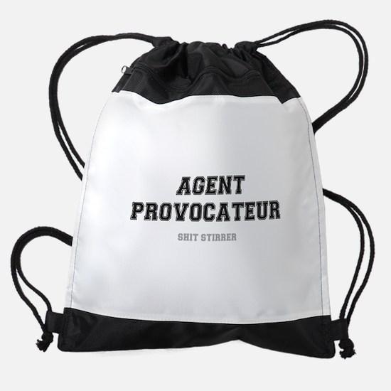 AGENT PROVOCATEUR - SHIT STIRRER! Drawstring Bag