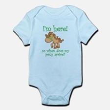 Cute Equestrian Infant Bodysuit
