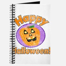 Vintage Happy Halloween Graphic Journal