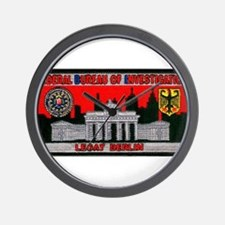 FBI LEGAT Berlin Wall Clock