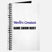 Worlds Greatest GAME SHOW HOST Journal