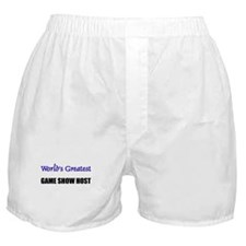 Worlds Greatest GAME SHOW HOST Boxer Shorts