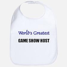 Worlds Greatest GAME SHOW HOST Bib