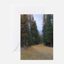 Fall Road Greeting Cards