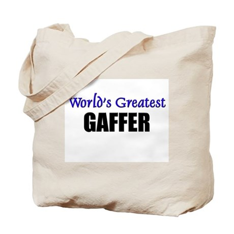 Worlds Greatest GAFFER Tote Bag
