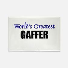 Worlds Greatest GAFFER Rectangle Magnet