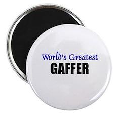 """Worlds Greatest GAFFER 2.25"""" Magnet (10 pack)"""