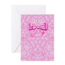 Pink On Pink Greeting Cards