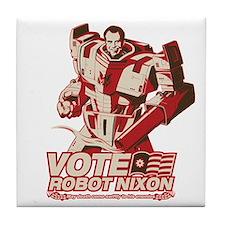 robot nixon Tile Coaster