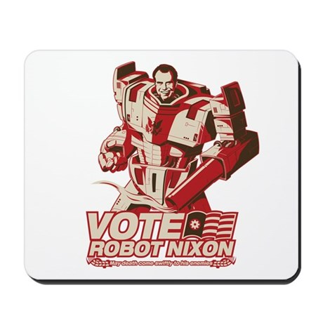robot nixon Mousepad