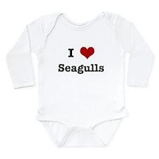 Funny Animals Long Sleeve Infant Bodysuit