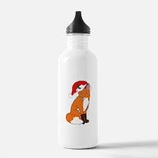 Foxy Santa Water Bottle