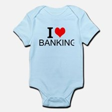 I Love Banking Body Suit