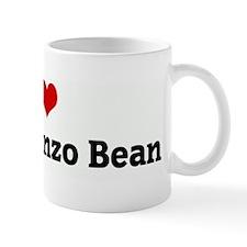 I Love my Garbanzo Bean Mug