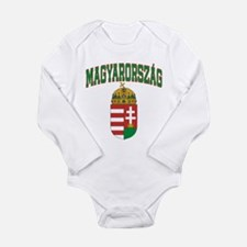 Cute Hungary Long Sleeve Infant Bodysuit