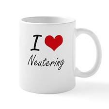 I Love Neutering Mugs