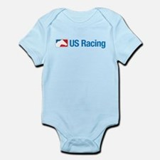 US Racing - No Slogan, Light Background Body Suit