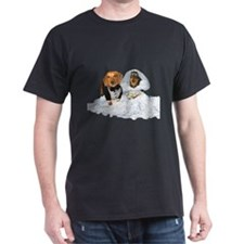 Wedding Dachshunds Dogs T-Shirt