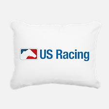US Racing - No Slogan, L Rectangular Canvas Pillow