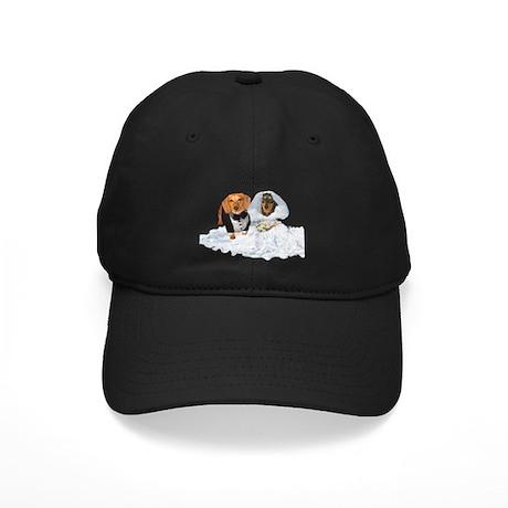 Wedding Dachshunds Dogs Black Cap