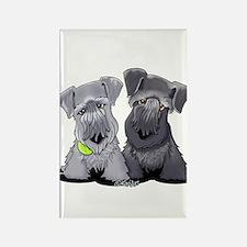 KiniArt Cesky Terriers Rectangle Magnet