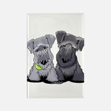 KiniArt Cesky Terriers Rectangle Magnet (100 pack)