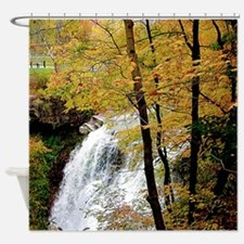 The Falls In Fall Shower Curtain