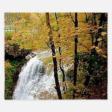 The Falls In Fall King Duvet