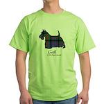 Terrier-Gall.MacDonald Green T-Shirt