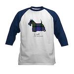 Terrier-Gall.MacDonald Kids Baseball Jersey