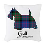 Terrier-Gall.MacDonald Woven Throw Pillow