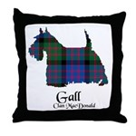 Terrier-Gall.MacDonald Throw Pillow