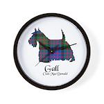 Terrier-Gall.MacDonald Wall Clock