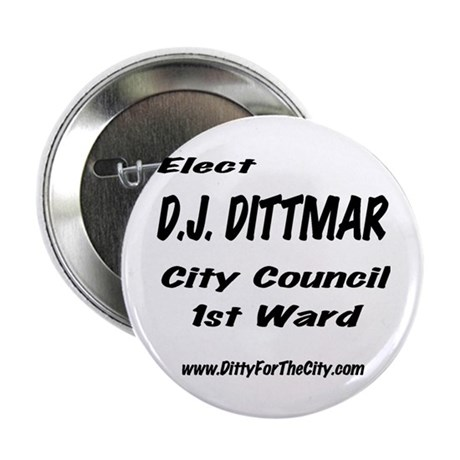"""Ditty City Council 2.25"""" Button (10 pack)"""